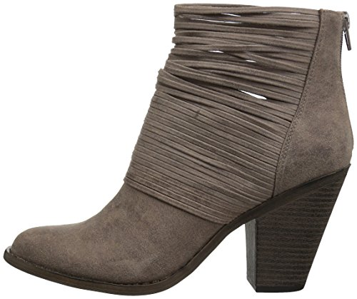 Pictures of Fergalicious Women's Wicket Ankle Bootie Brown 5