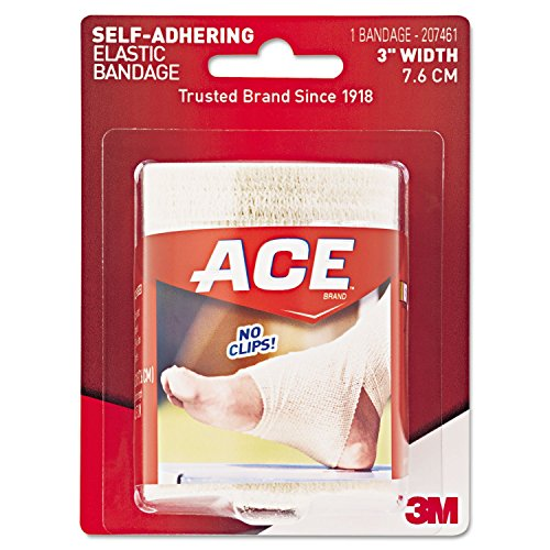 ACE Self-Adhering Elastic Bandage, 3 Inches, 1-Count