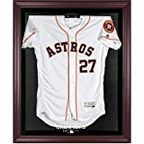 Sports Memorabilia Houston Astros 2017 MLB World Series Champions Mahogany Framed Logo Jersey Display Case - Fanatics Authentic Certified