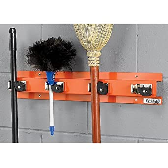 "Ex-Cell Economy Cleaning Tool Organizer - 24X3x4"" - Safety Orange"