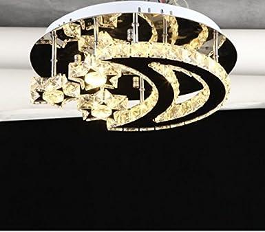 Fsd LED Kristall Deckenleuchte luxuriöse und romantische Kristall ...