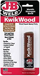 J-B Weld 8257 KwikWood Wood Repair Epoxy Putty