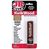 J-B Weld 8257 KwikWood Wood Repair Epoxy Putty Stick-1 oz, Tan