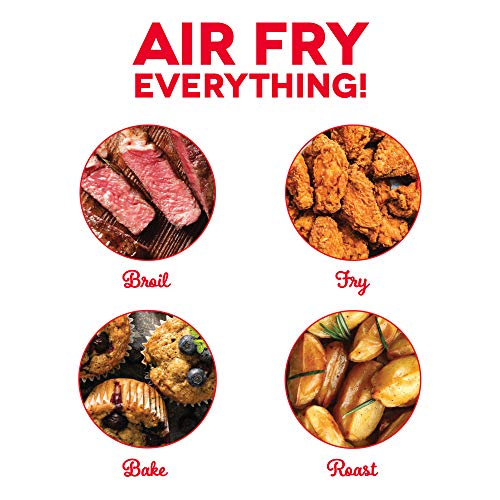 Dash DCB001AF Air Fryer Recipe Book for Healthier + Delicious Meals, Snacks & Desserts, Over 70+ Easy to Follow Guides, Cookbook