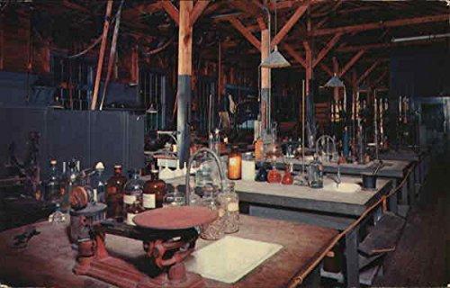 Chemical Laboratory, Edison Winter Home Fort Myers, Florida Original Vintage - Edison Fort Myers