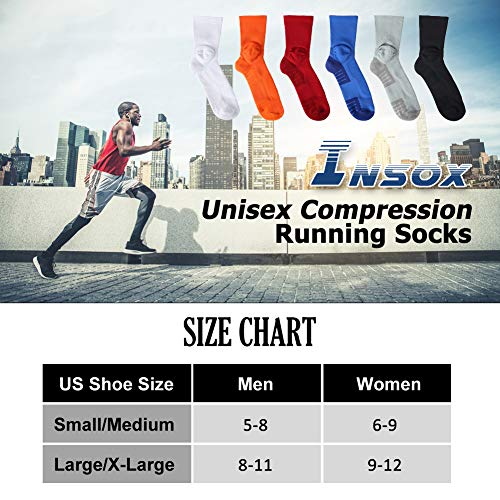 Amazon.com: Insox Womens Mens Compression Soft Athletic Arch ...