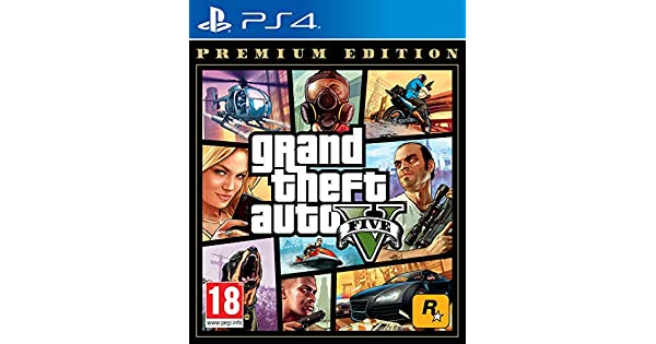 Grand Theft Auto V - Premium Edition: Sony: Amazon.es: Videojuegos