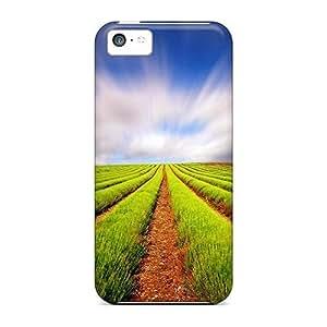 Bernardrmop Iphone 5c Hybrid Tpu Case Cover Silicon Bumper Field Lscape