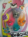 Kachooz Pencil Toppers ~ Set of 4 Moops (Pink & White Mystical Series #'s 45, 41, 54, 52)