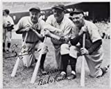 Ty Cobb & Babe Ruth Yankees & Tigers 8 X 10 Reprint Photo - Beautiful !