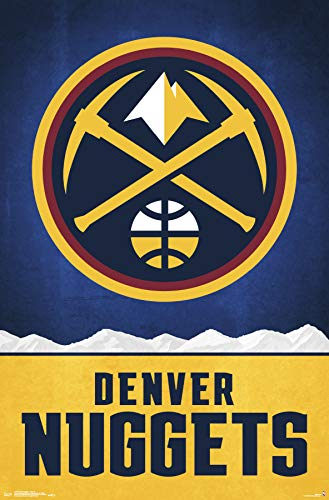Trends International Denver Nuggets - Logo Wall Poster 22.375