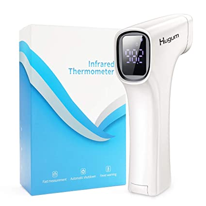 Digital Infrared Forehead Thermometer Non-Contact Digital Thermometer with Fever Alert Function 3 in 1 Digital Medical Infrared Thermometer with Fever Alert Function Thermometer
