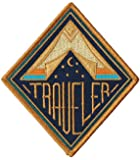 Traveler Embroidered Sew or Iron-on Patch