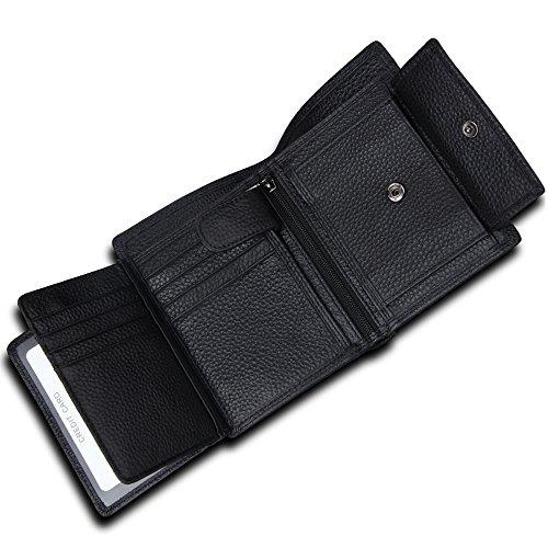 men s wallet gazigo rfid blocking leather wallet for men trifold 3