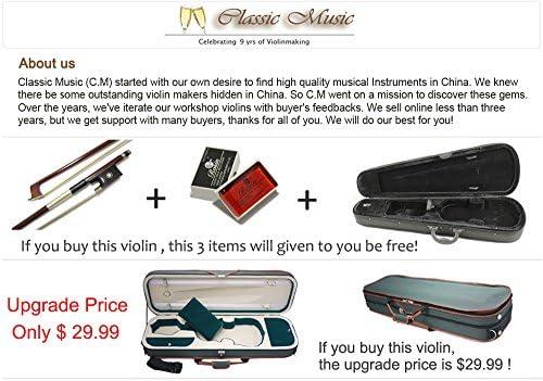 Classic música pájaro ojos Stradivarius para Violín, One Piece back, hecho a mano antiguo # 342: Amazon.es: Instrumentos musicales