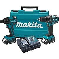 Makita 18V Compact Lithium-Ion Brushless Cordless Combo Kit