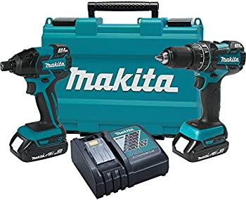 Makita 18V Compact Lithium-Ion Brushless Cordless Combo Kit
