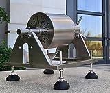 KUNHEWUHUA Manual Stainless Steel Coffee Beans Roaster Machine Home Kitchen Tool