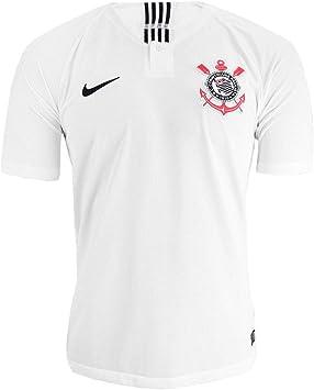 Nike - Corinthians 1ª Camiseta 18/19 Color: Blanco Talla: L: Amazon.es: Deportes y aire libre
