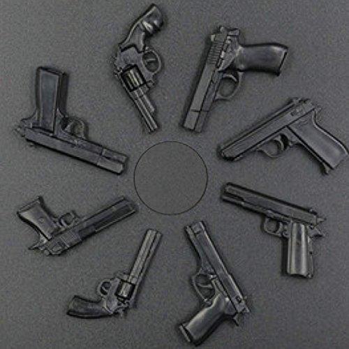 1/6 scale handgun collection model diorama figure (8 models) Beretta, Colt Python, 357 Magnum, Desert Eagle, etc.