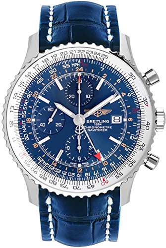 Breitling Navitimer World Blue Dial Men's Watch A2432212/C651-746P