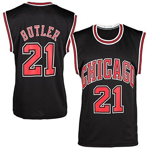 Mens Jimmy Butler #21 Black Alternate Jersey Basketball Jersey