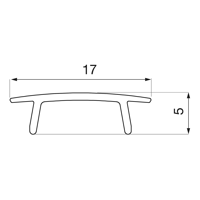3 3 3 x LED Profil-45A 2 m für 19 mm Plattenstärke mit klarer Abdeckung für LED Streifen bis 12 mm Breite Aluminium eloxiert Profilleiste Aluprofil Regalkantenbeleuchtung von SO-TECH® 9ec66b
