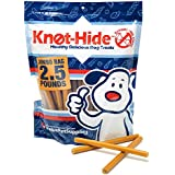 KnotHide Rawhide-Free Dog Treat Sticks, Chicken and Peanut Butter, 2.5 Pound