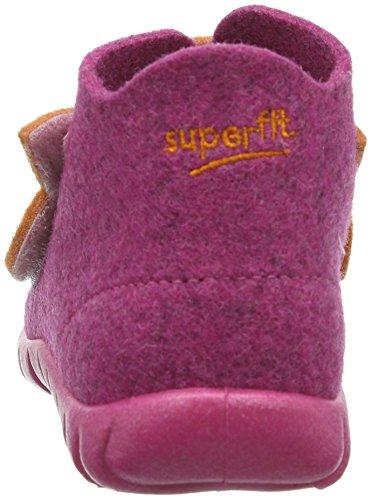 Superfit 30029 HAPPY Mädchen Hohe Hausschuhe Pink (POWDER KOMBI 57)