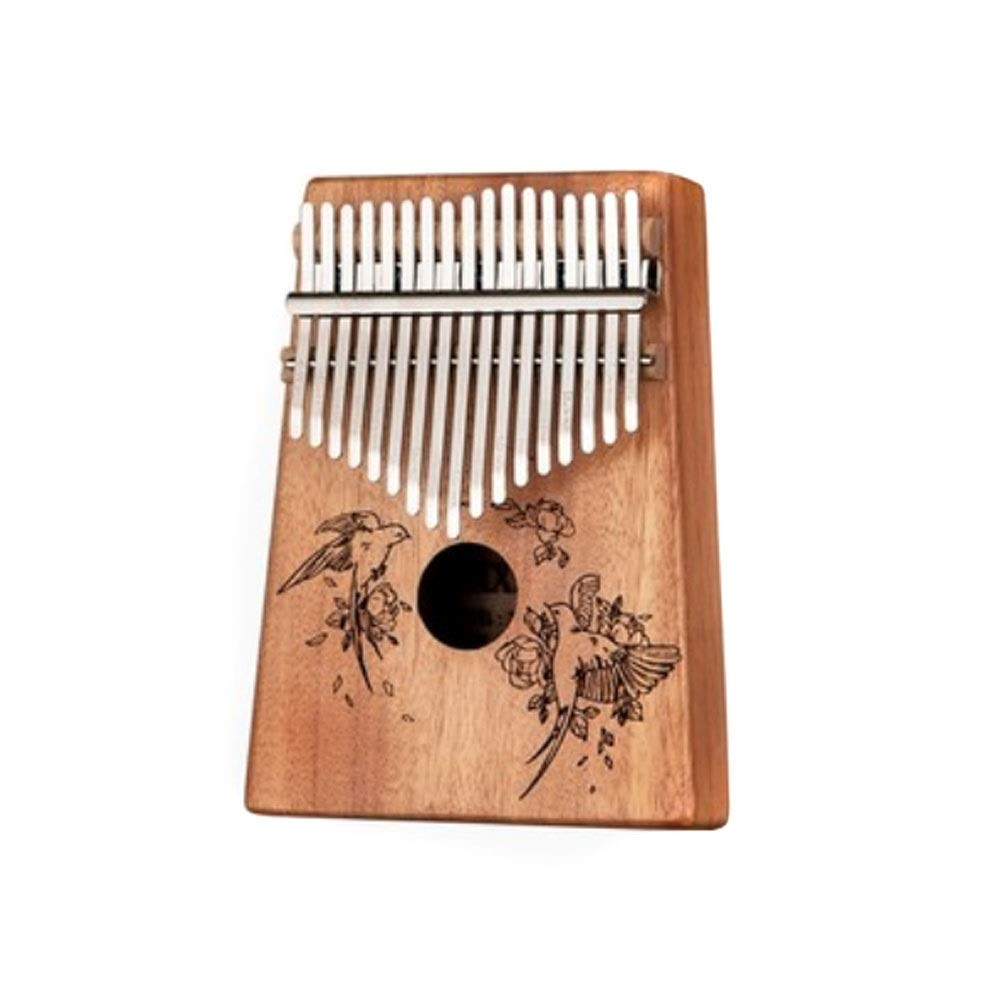 Youshangshipin Kalimba, Retro Kalimbaqin Thumb Piano, 17-tone Beginners Entry General Style (style 7, There Are Many Styles, Gifts) (Edition : Style 10)