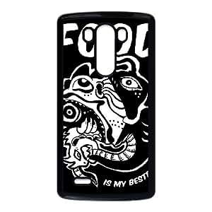 LG G3 Cell Phone Case Black_FOOD IS MY BESTFRIEND Kkmic