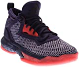 adidas Performance D Lillard 2 J Shoe (Big Kid),Dark Purple/Blast Purple/Shock Red,4.5 M US Big Kid