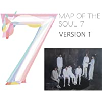 MAP of The Soul : 7 BTS Album (Version 1) CD+Official Poster+Photo Book+Lyric Book+Mini Book+Photocard+Postcard+Coloring…