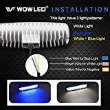 WFPOWER Boat Light 2 Pack, Blue and White Color 2