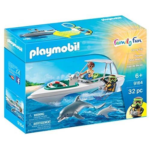 PLAYMOBIL Diving Trip Figura de construcción