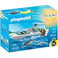 Playmobil 9164 Diving Trip Boat with Dolphins