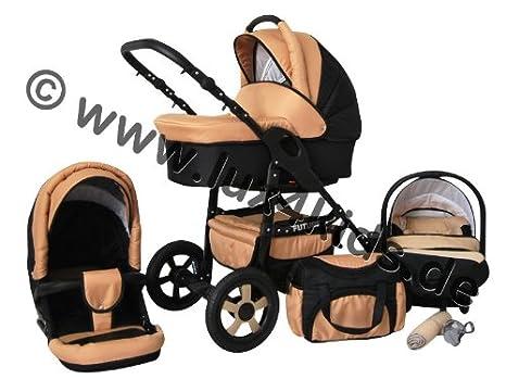 Lux4Kids® Futuro Cochecito de bebé combinado 3 en 1 ...