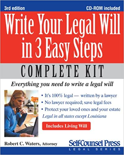 Write Your Legal Will in 3 Easy Steps - US: Everything you