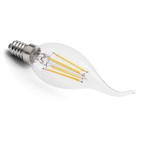 SoftLED - Bombilla LED (casquillo E14, 2200k, COG, 3 W, con