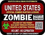 zombie laptop decal - 5