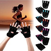 Sports Gym Gloves Men Fitness Training Exercise Weight Lifting Gloves Half Finger Body Workout Women Glove