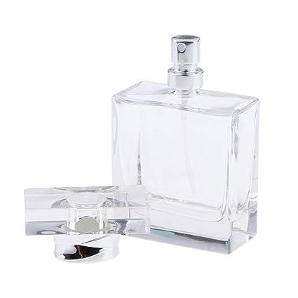 CUTICATE 50ml Botella de Perfume Cuadrado Estuche Envase de ...