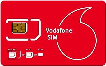 VODAFONE - Tarjeta SIM de Datos precargada (30 GB) Sin ...