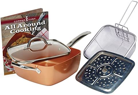 Copper Chef KC15053-04000 Cookware set 5, 5 Pieces, Copper