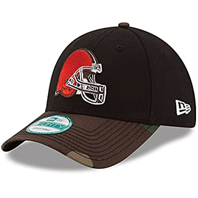 Cleveland Browns The League Camo 9FORTY Adjustable Hat / Cap from New Era