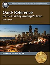 Quick Reference for the Civil Engineering PE Exam, 9th Ed
