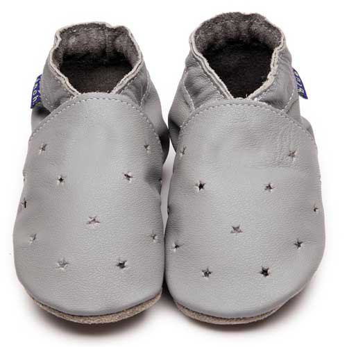 Inch Blue - Patucos para niño gris gris Child Medium