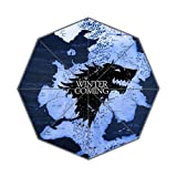 The Fame House Stark Custom Foldable Umbrella Rain Umbrella Wind Resistant Windproof Floding Travel Umbrella