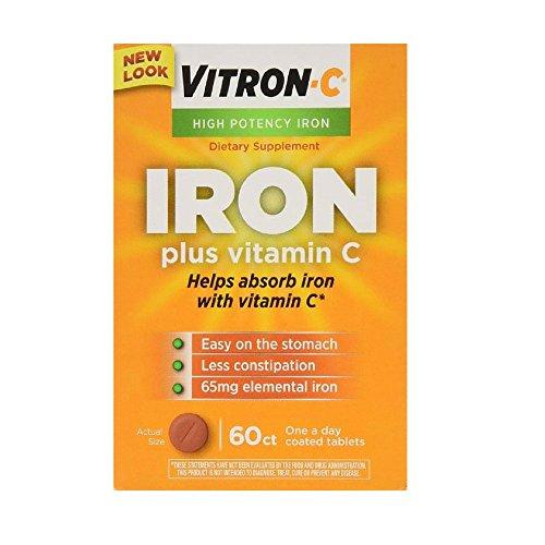 Emerson Healthcare LLC Vitron C Tablets, 60 Count