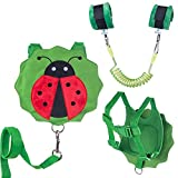 : Child Leashes for Toddlers with Wrist Link - Cute Children Safety Harness Leash Kid Wristband Assistant Strap Belt with Anti Loss Wrist Link Safety Wrist Link for Toddlers 1-3 Years Old Boys and Girls